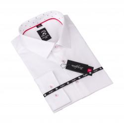 Košeľa Brighton biela s textúrou 110095