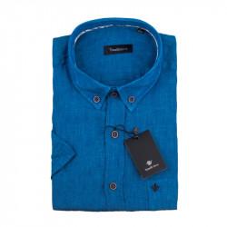 Pánska košeľa modrá krátky rukáv Tonelli 110869