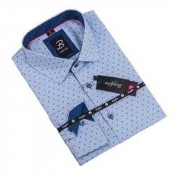 Košeľa Brighton modrá 109932