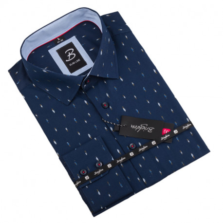 Košeľa Brighton modrá 109933