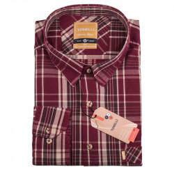 Pánska košeľa červená dlhý rukáv Tonelli 110920
