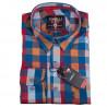 Pánska košeľa modrá dlhý rukáv Tonelli 110925