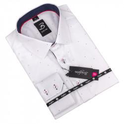 Košeľa Brighton bielomodrá 110033