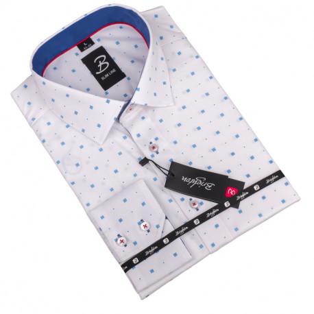 Nadmerná košeľa Brighton biela 110043
