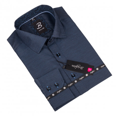 Košeľa Brighton modrá 109957