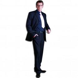 Sivý pánsky oblek spoločenský na výšku 176 - 182 cm Galant 160611