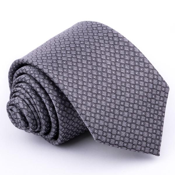 Tmavo sivá kravata